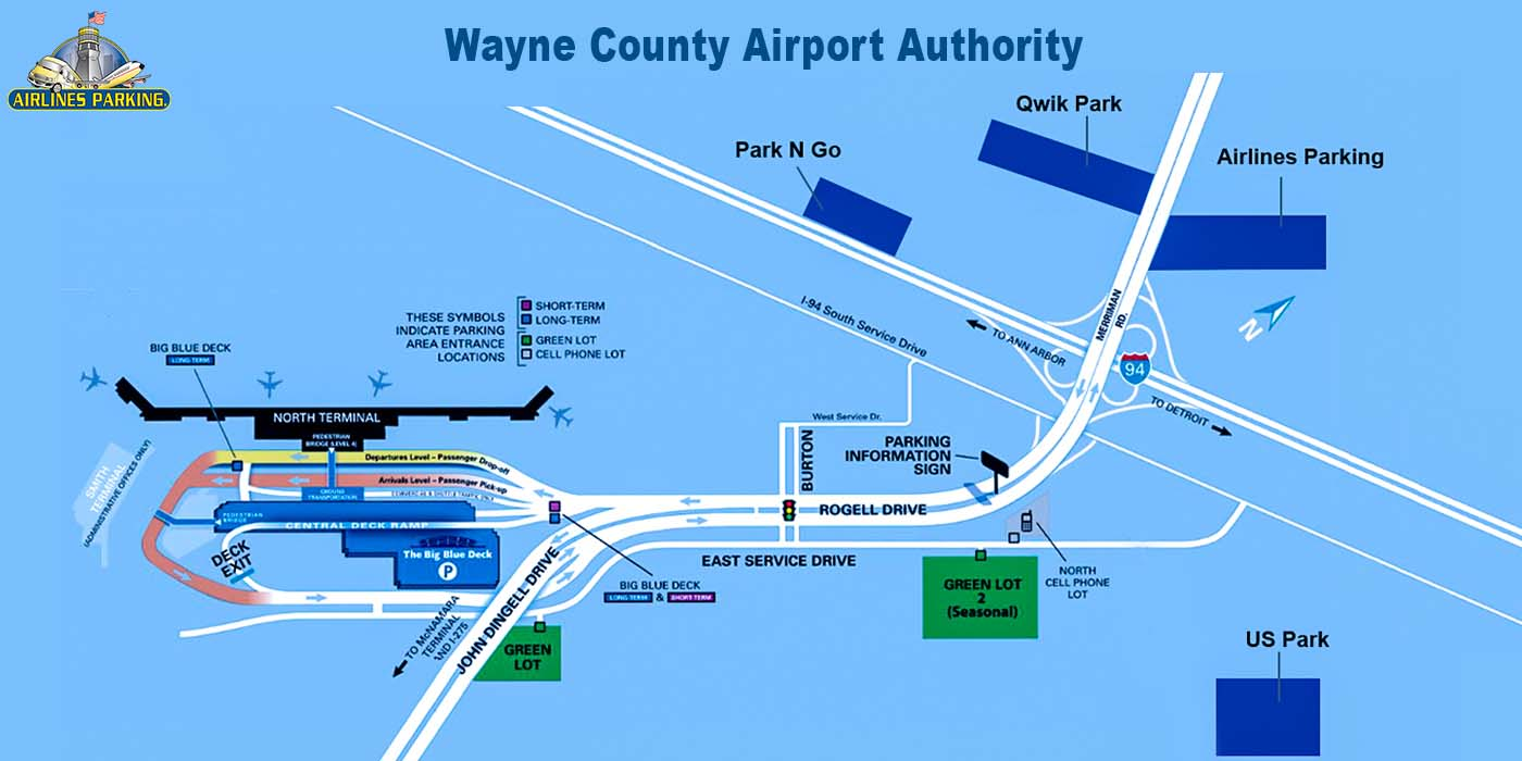DTW Parking Complete Detroit Airport Parking Guide