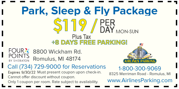 park n fly coupon detroit